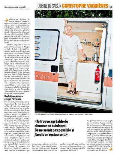 Migros Magazine 14 juin 2011 (3/4)
