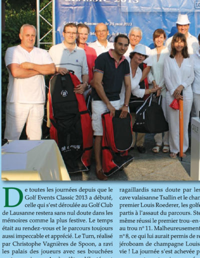 Golf Event Magazine (été 2013)