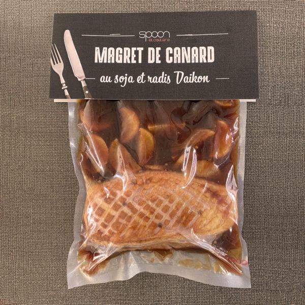 Magret de canard Spoon